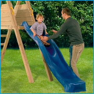 Blue Rabbit Deckswing with Slide Close up